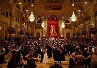 Ball Imperial der Stadt Baden