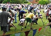 Спортивный фестиваль в английском Чешире