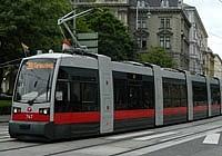 Новые трамваи в Вене