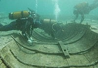 Поиски корабля эпохи римской империи