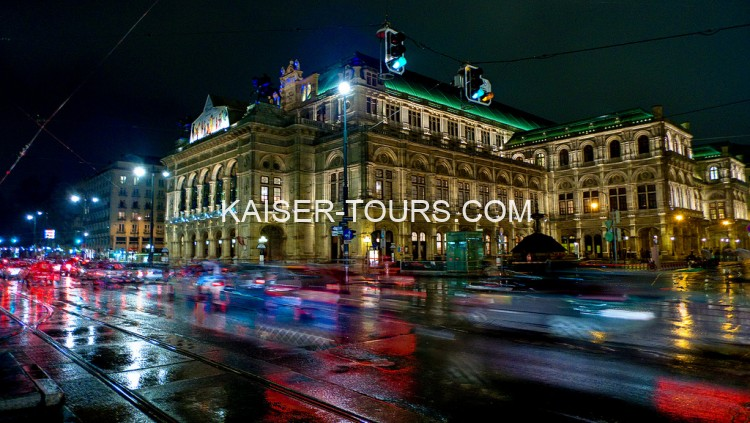 Evening excursion across Vienna